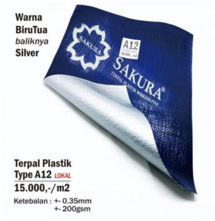 Harga Terpal Plastik Sakura A12